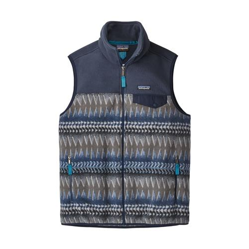 Patagonia Men's Lightweight Synchilla Fleece Snap-T Vest LWSB