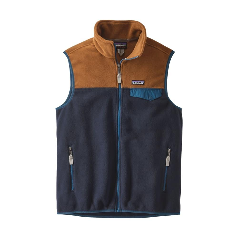 Patagonia Men's Lightweight Synchilla Fleece Snap-T Vest NVBB