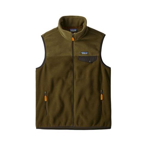 Patagonia Men's Lightweight Synchilla Fleece Snap-T Vest Semt