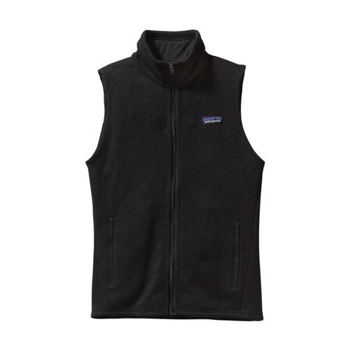 Patagonia Women's Better Sweater Fleece Vest BLK