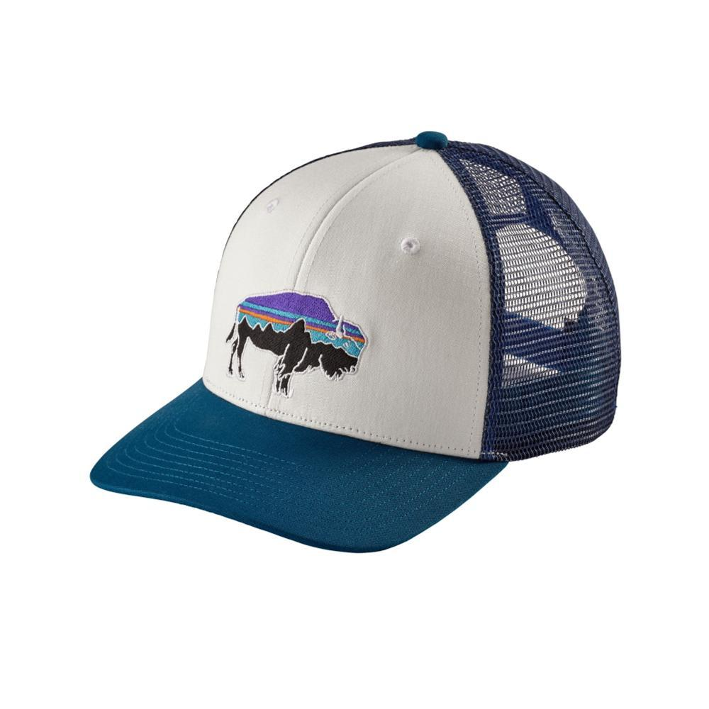Patagonia Fitz Roy Bison Trucker Hat WBSB