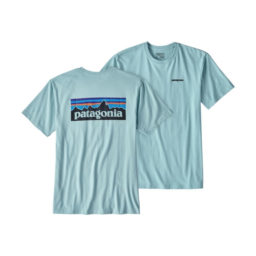 Patagonia Men's P-6 Logo Cotton T-Shirt TBLUE_TUBL