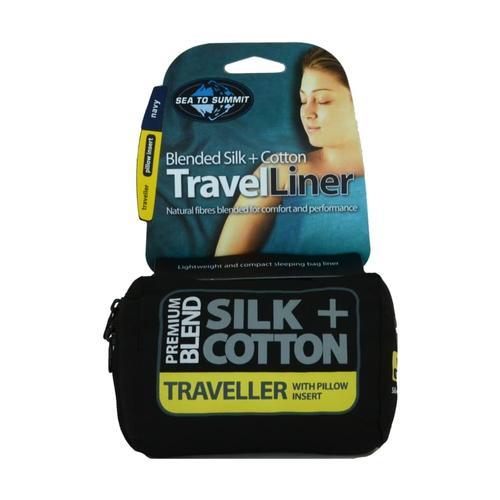 SILK/COTTON LINER - TRAVELER