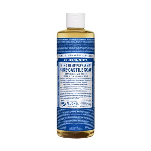 Dr. Bronner's Pure-Castile Liquid Soap Peppermint 16oz