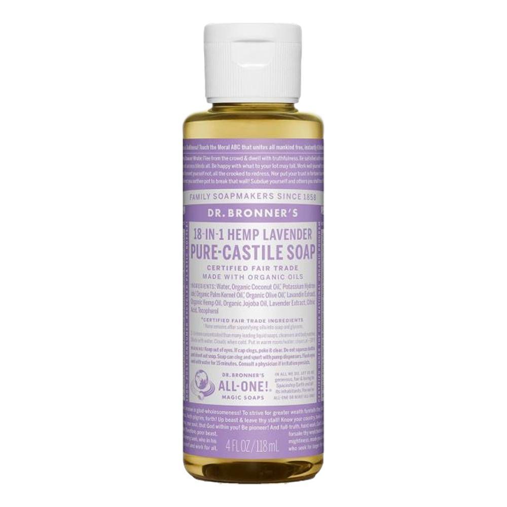Dr.Bronner's Pure- Castile Liquid Soap Lavender 4oz