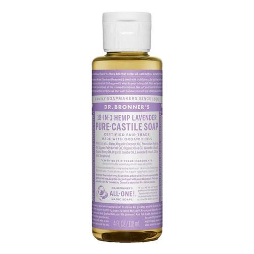 Dr. Bronner's Pure-Castile Liquid Soap Lavender 4oz