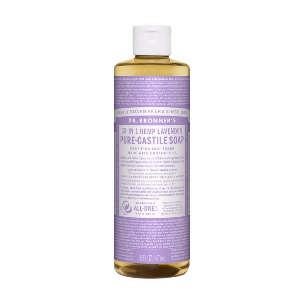 Dr.Bronner's Pure- Castile Liquid Soap Lavender 16oz