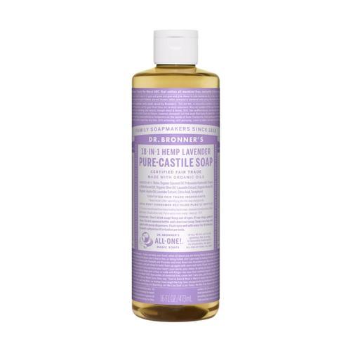 Dr. Bronner's Pure-Castile Liquid Soap Lavender 16oz