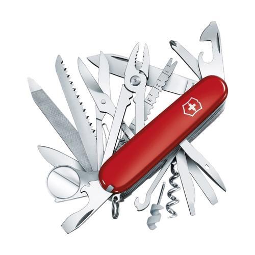 Victorinox - Swiss Army Brand Swiss Champ Knife Red
