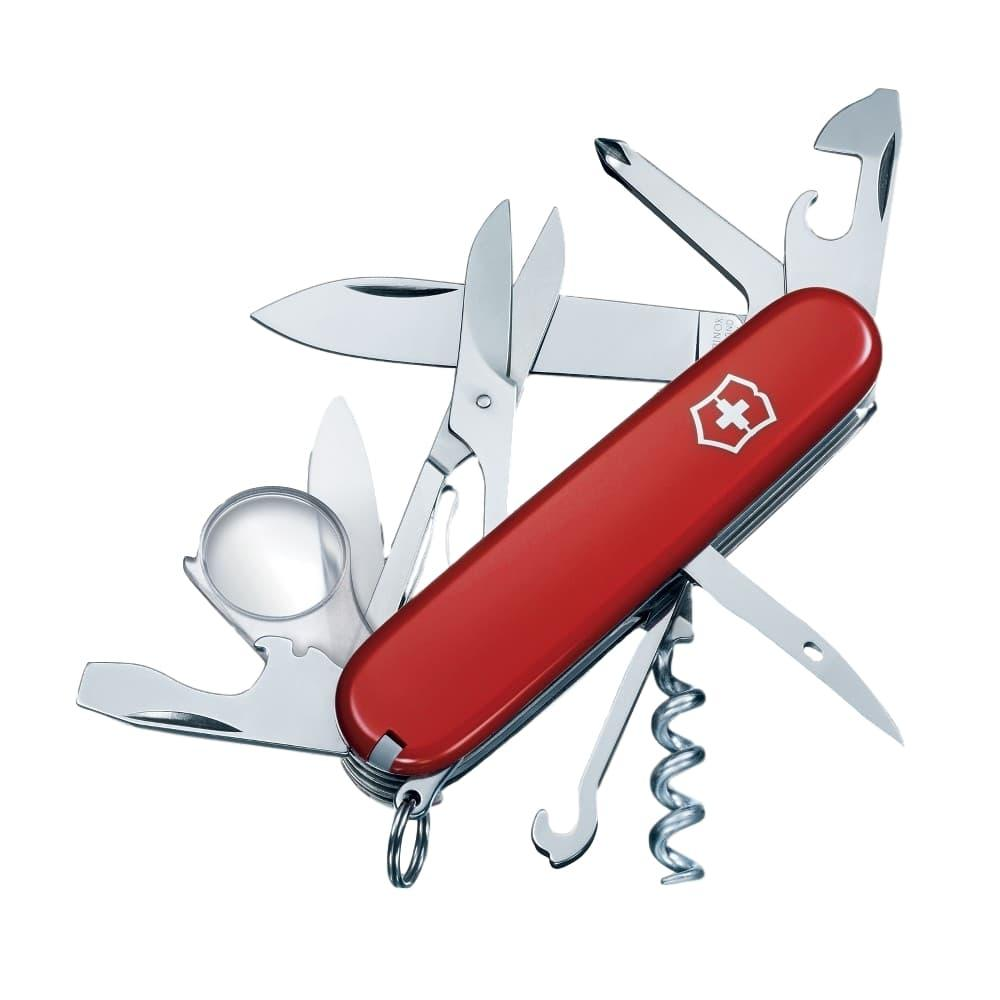 Victorinox - Swiss Army Brand Explorer Knife RED