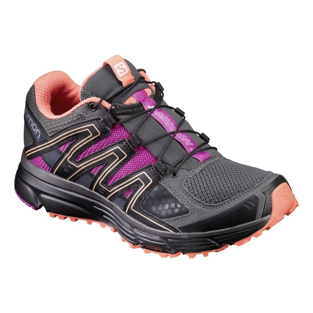 Salomon Women's X Mission 3 Running Shoes MAGNETROSE