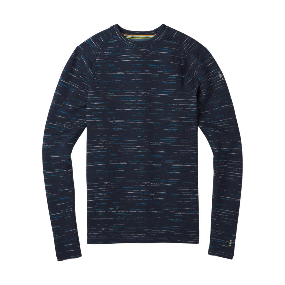 Smartwool Men's NTS Mid 250 Pattern Crew Long Sleeve Top NAVYCOB_A40