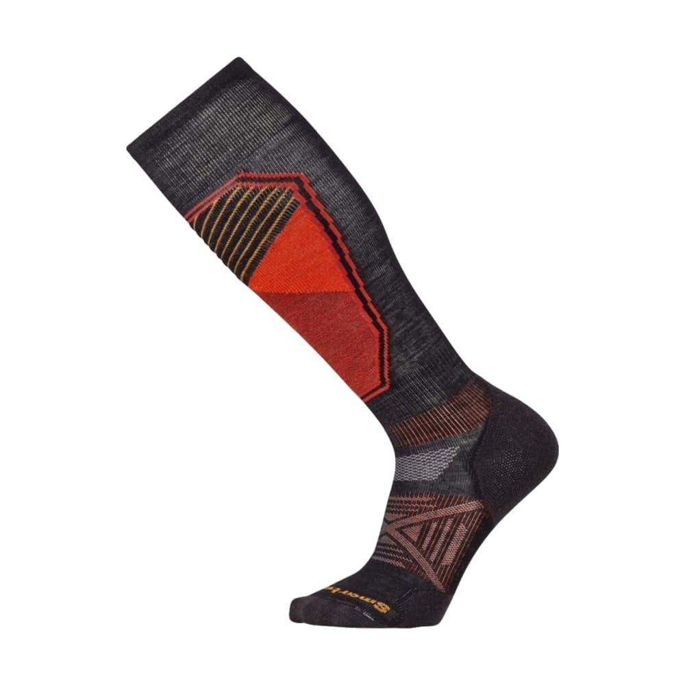 Smartwool Men's PhD Ski Light Pattern Socks BLACK_001