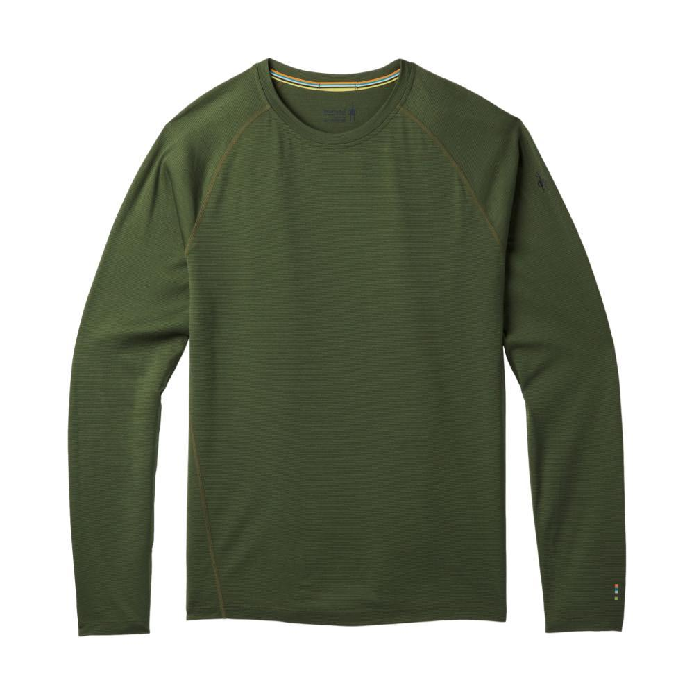 Smartwool Men's Merino 150 Base Layer Micro Stripe Long Sleeve Top CHIVE_A20