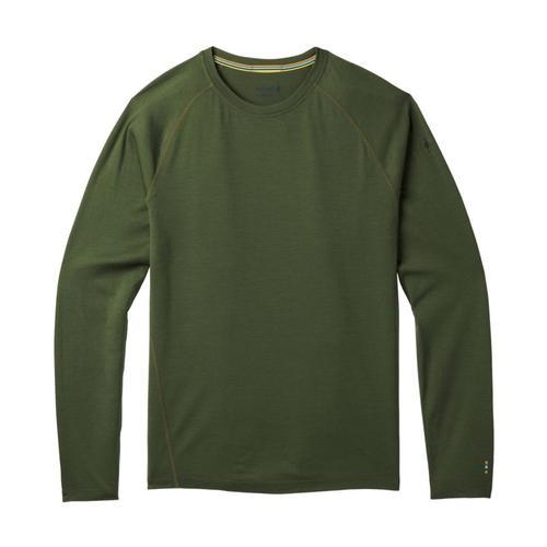 Smartwool Men's Merino 150 Baselayer Pattern Long Sleeve Top Chive_a20