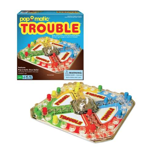 Trouble Classic Edition Board Game