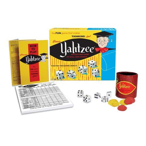 Yahtzee Classic Dice Game