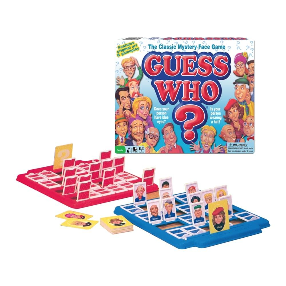 Guess Who ? Classic Edition Board Game