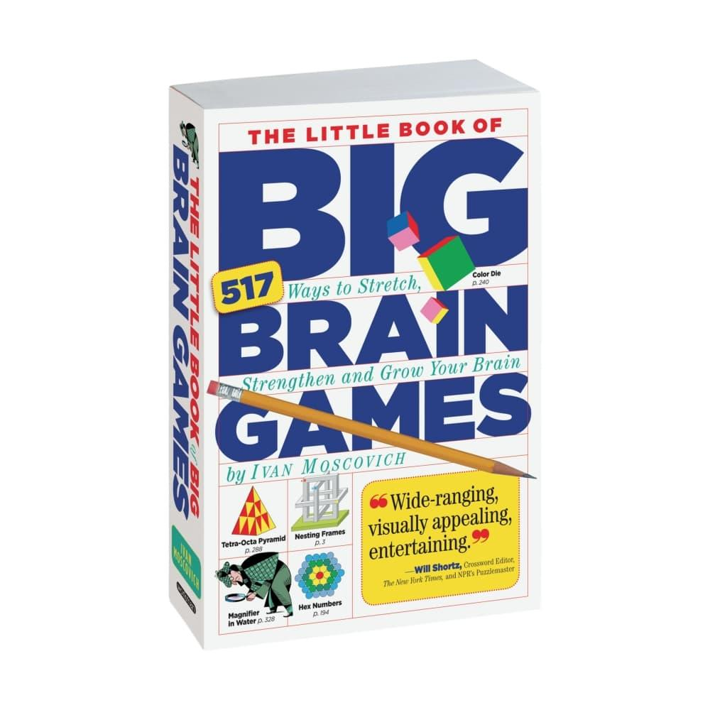 The Little Book Of Big Brain Games By Ivan Moscovich