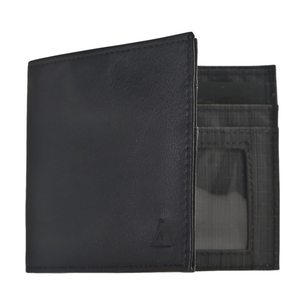Allet Inside Id Wallet- Leather