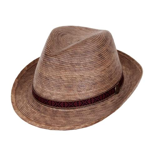 Tula Unisex Fedora Hat Multi Band - Small Multi_band