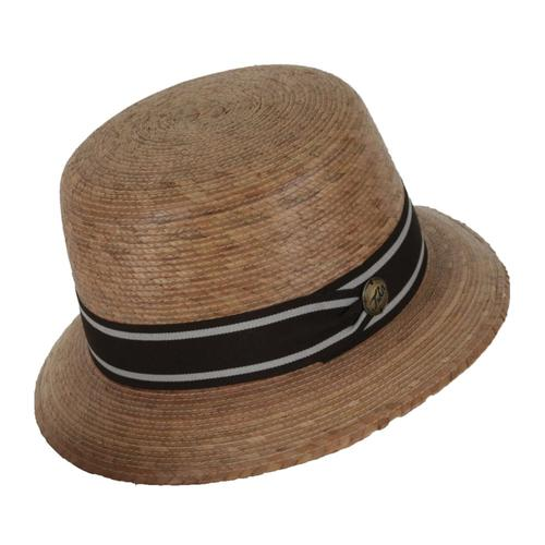 Tula Women's Zoe Brown Band Hat STRAW