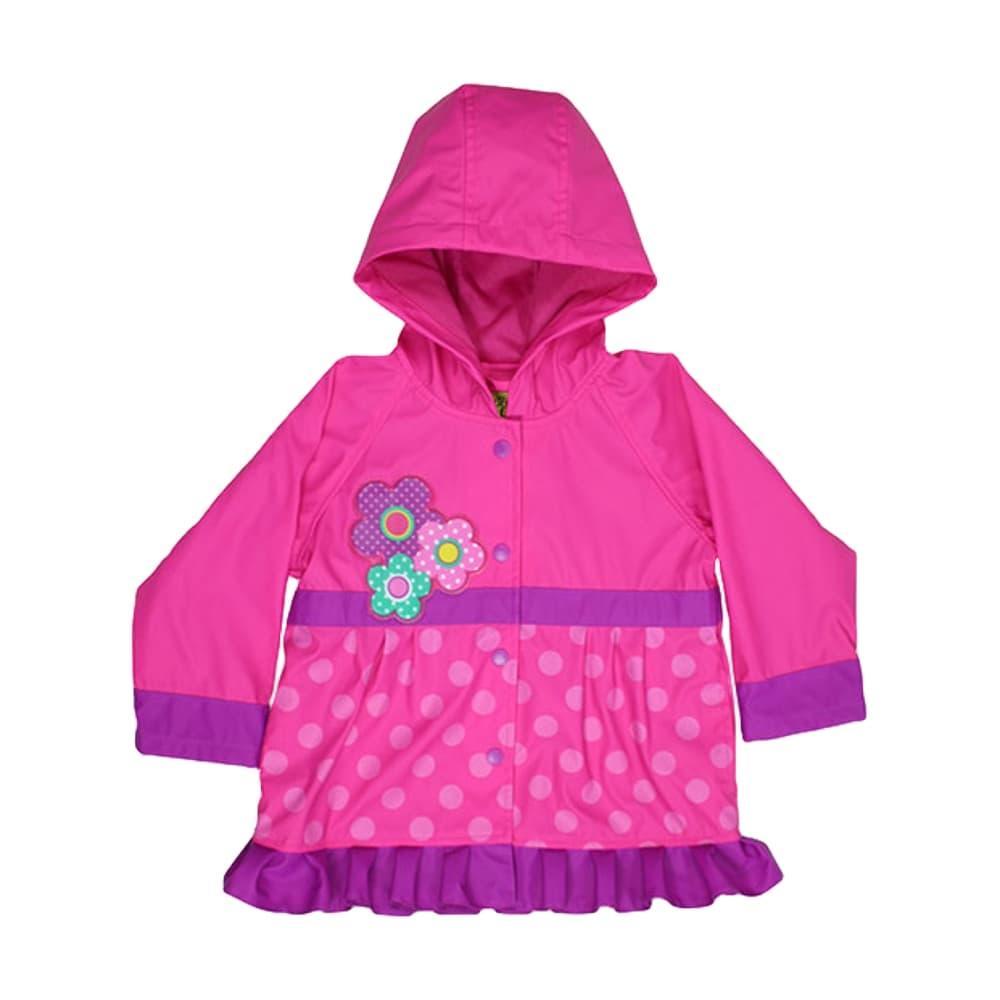 Western Chief Kids Flower Cutie Rain Coat PINK