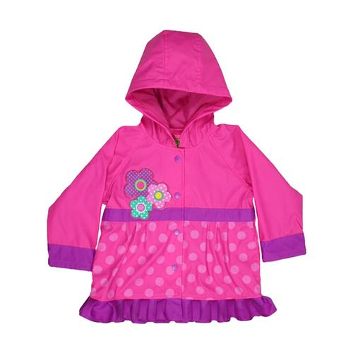 Western Chief Kids Flower Cutie Rain Coat PINK