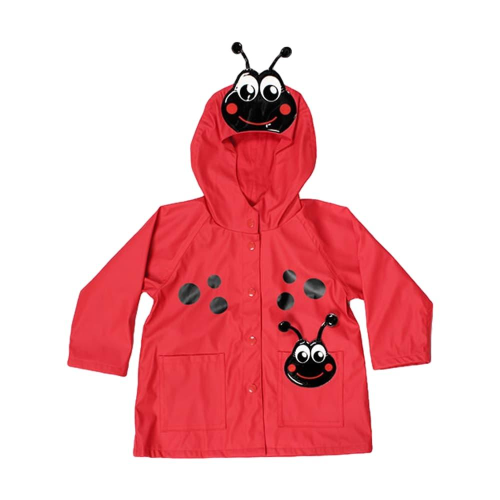 Western Chief Kids Ladybug Rain Coat RED