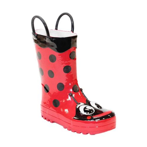 Western Chief Kids Ladybug Rain Boots RED