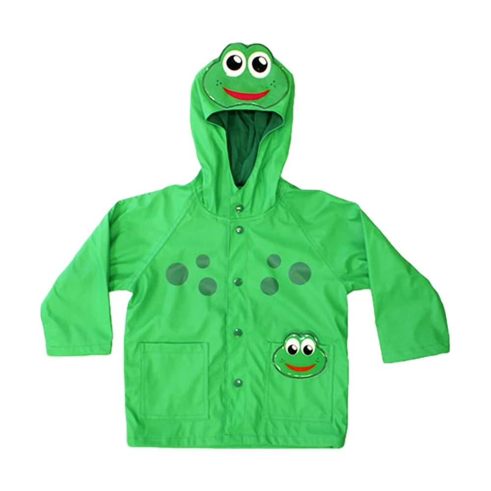 Western Chief Kids Frog Rain Coat GREEN