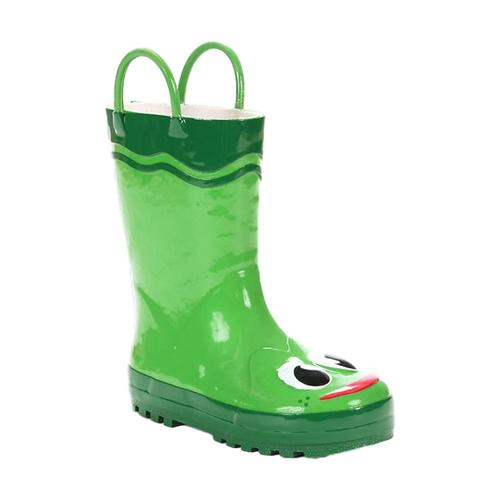 Western Chief Kids Frog Rain Boots GREEN