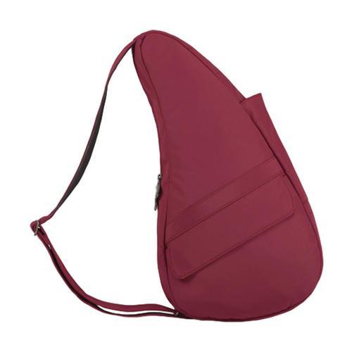 AmeriBag Healthy Back Bag Microfiber Shoulder Bag - Small Garnet