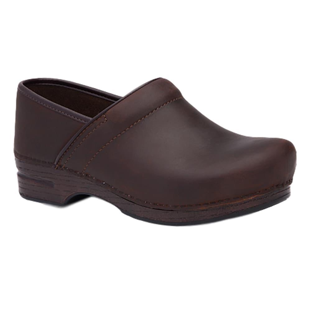 Dansko Men's Pro XP Brown Oiled Leather Clogs BRN.OIL