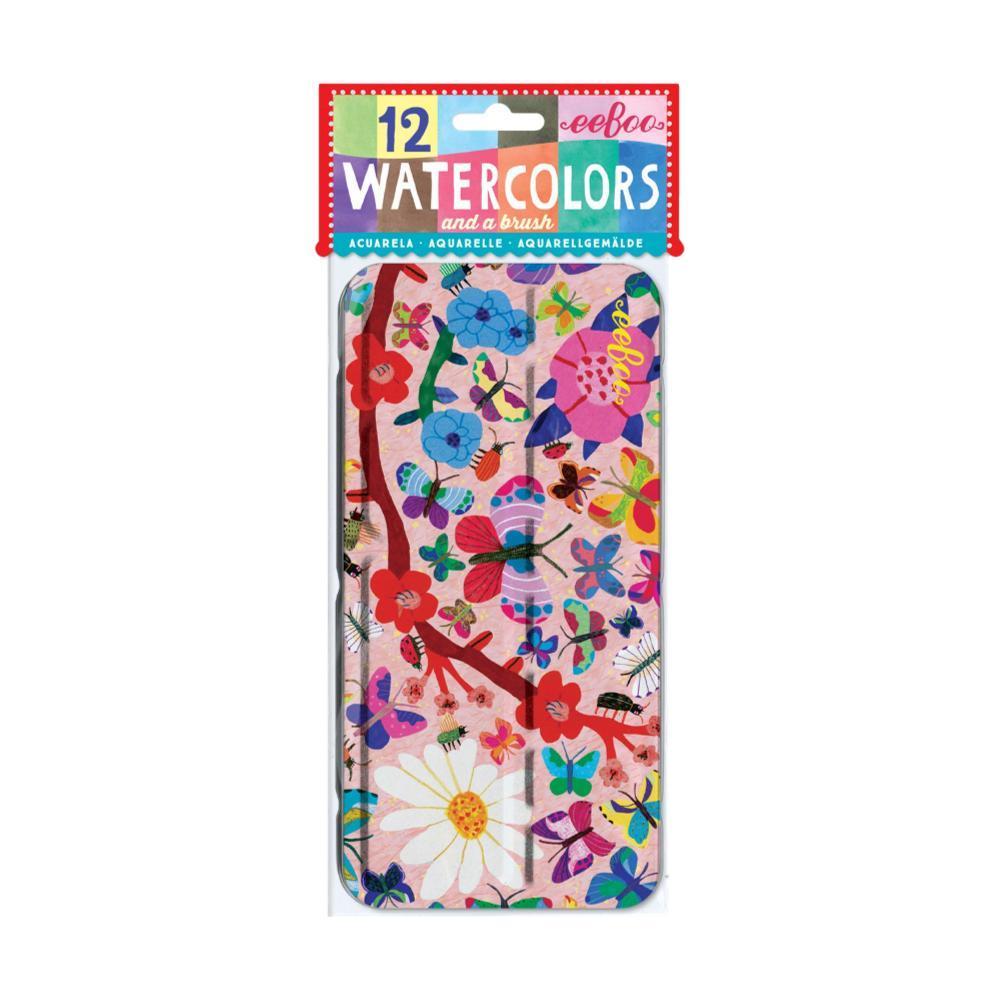 eeBoo Butterflies Watercolors BUTTERFLIES