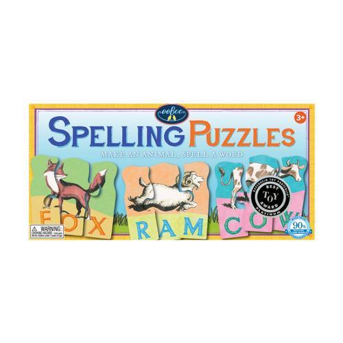 eeBoo Animal Spelling Puzzle .