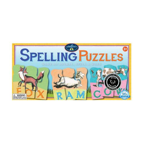 eeBoo Animal Spelling Puzzle