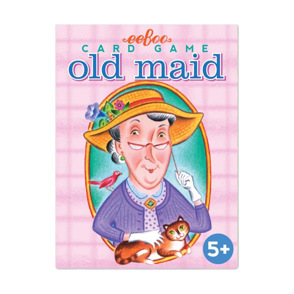 eeBoo Old Maid Card Game OLD_MAID