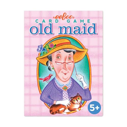 eeBoo Old Maid Card Game Old_maid
