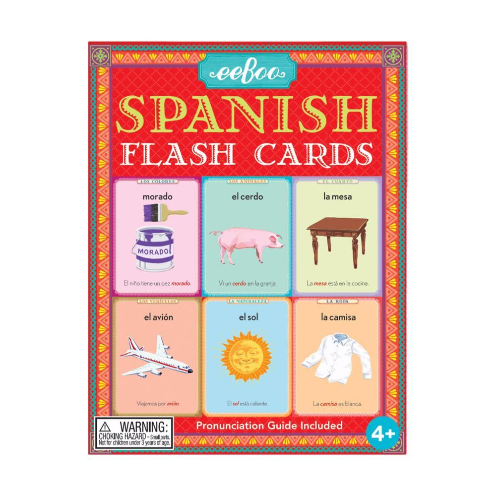 Eeboo Spanish Flash Cards