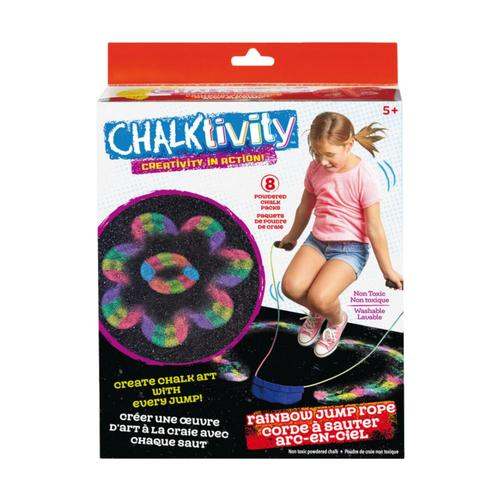 Epoch Chalktivity Rainbow Jump Rope