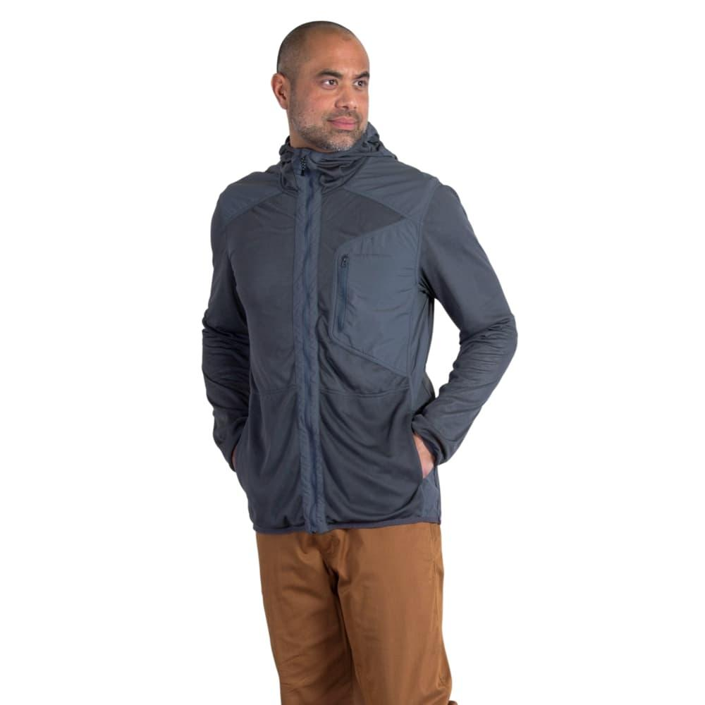 ExOfficio Men's BugsAway Sandfly Jacket DKPEBBLE