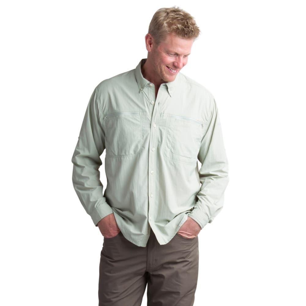 ExOfficio Men's Atoll Long Sleeve Shirt DESERTSAGE