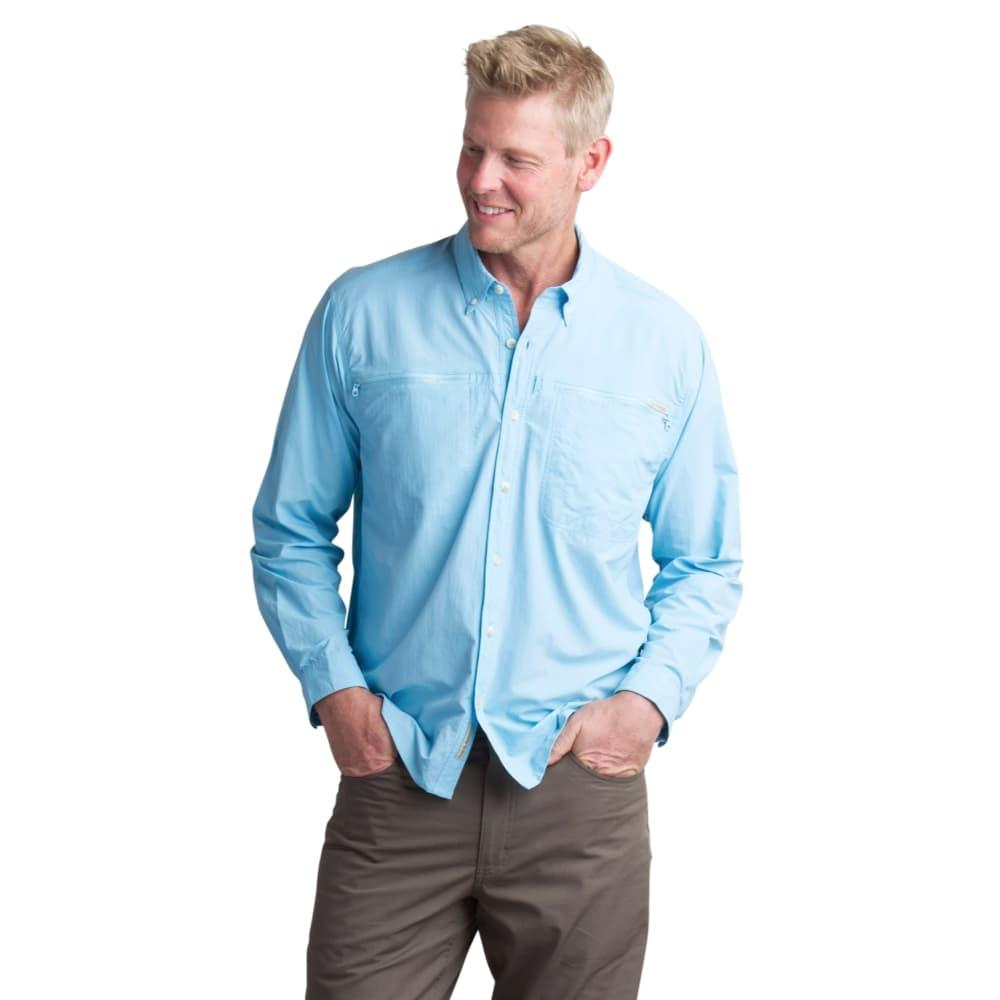 ExOfficio Men's Atoll Long Sleeve Shirt SKY