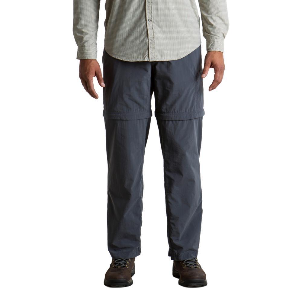 Exofficio Men's Sol Cool Ampario Convertible Pant - 30in Inseam CARBON