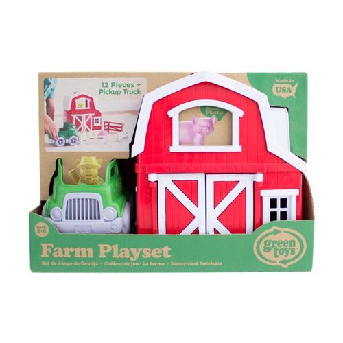 Green Toys Farm Playset .