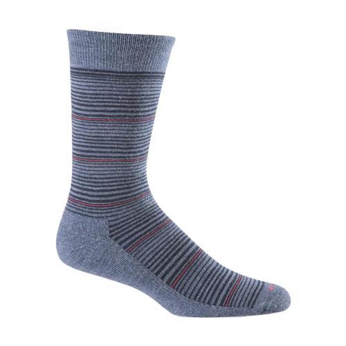 Sockwell Men's Bandwidth Crew Socks Denim_650