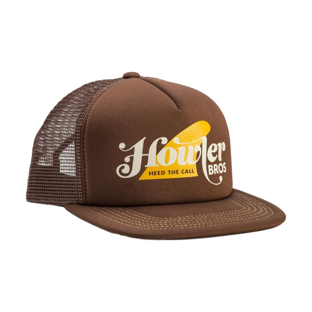 Howler Brothers Howler Fin Snapback Hat BROWN
