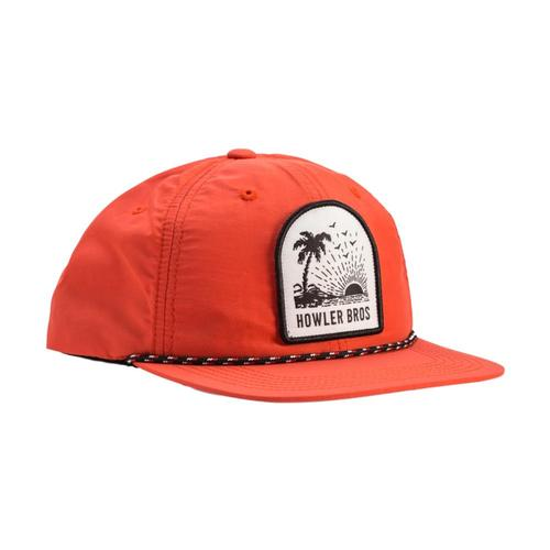 Howler Brothers Men's Paradise Crest Snapback Hat