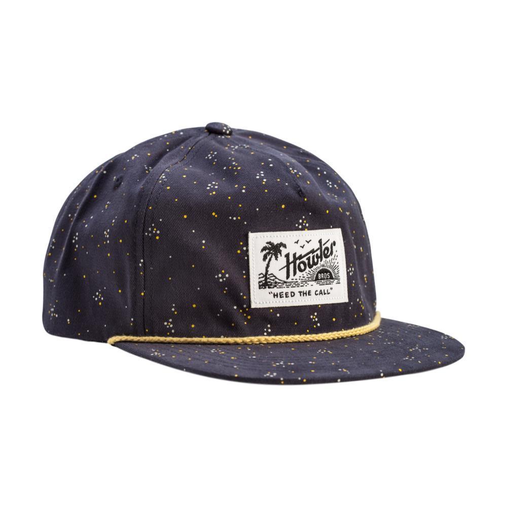 Howler Bros. Archipelago Dot Snapback Hat NAVY